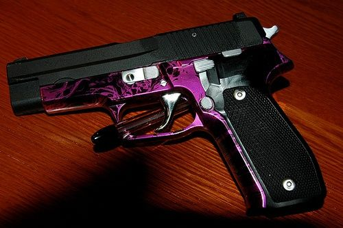 Yay! This is my gun! It is pretty cool! | self defense ...