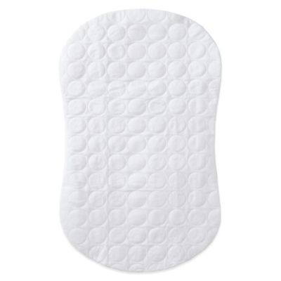 Halo Bassinest Mattress Pad Cover White Mattress Pad