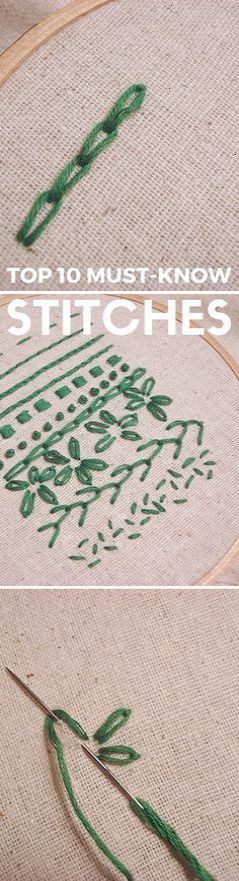 Wonderful Hand Embroidery Tutorials Repin Embroidery Fun