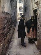 A Street In Venice - John Singer Sargent