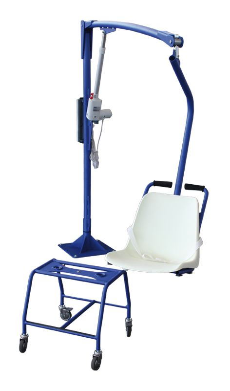 F145 Floor Mounted Pool Lift With Transportable Chair