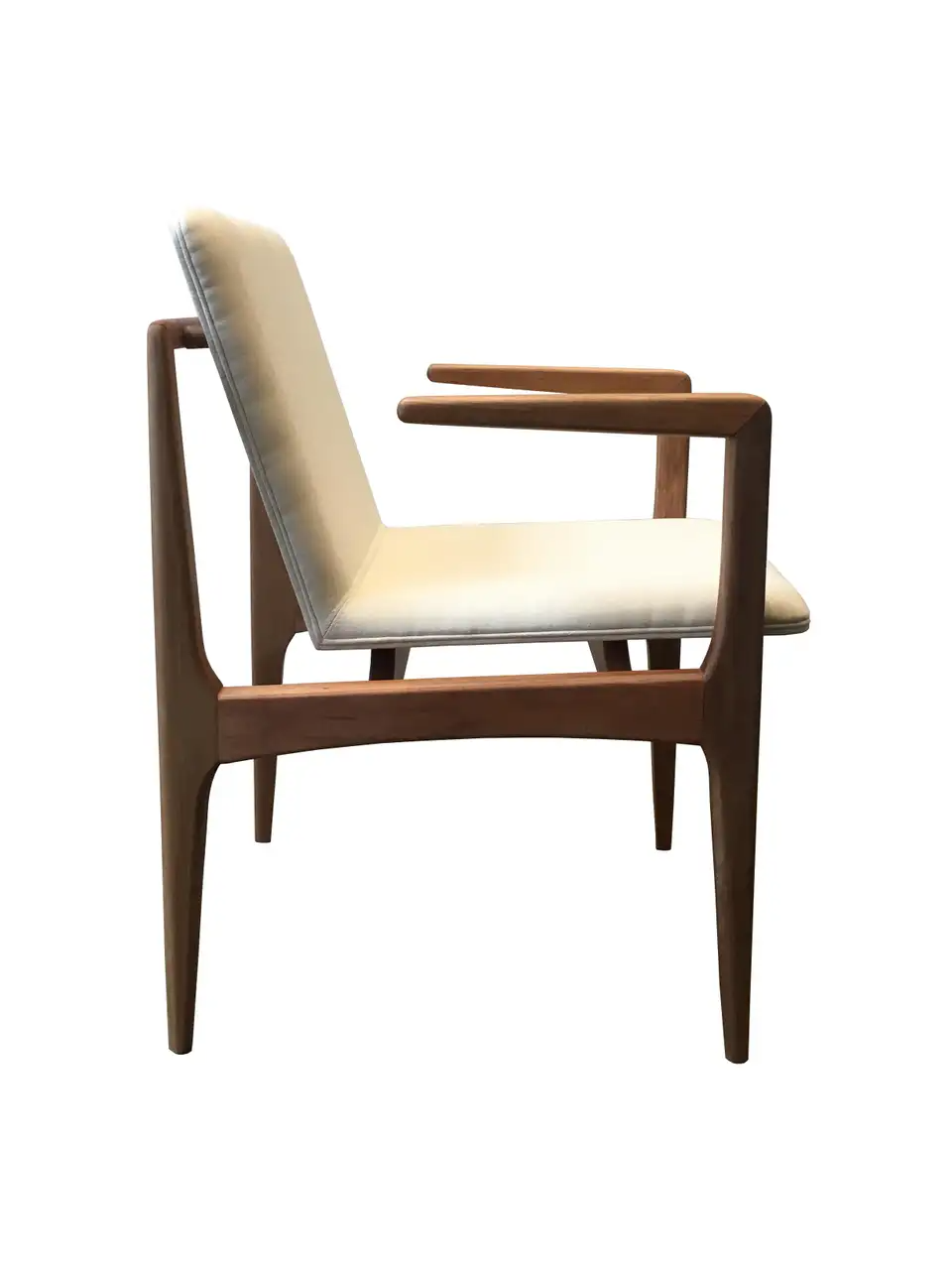 Oscar Minimalist Chair With Arms In Solid Jequitiba Wood And Handwoven In 2020 Minimalist Chair Chair Wrought Iron Patio Chairs