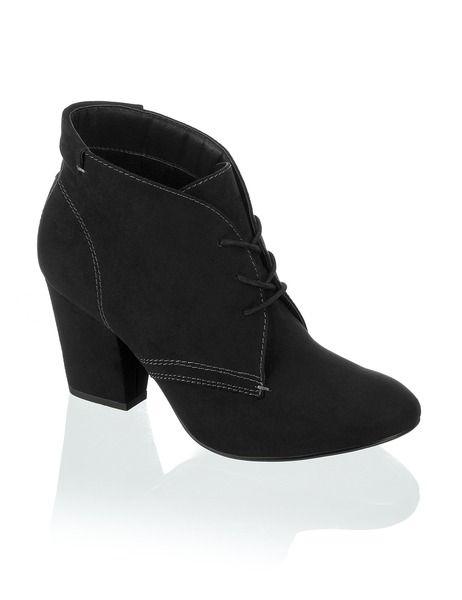 separation shoes 81641 573f6 PCTN Lace Up - schwarz - Gratis Versand | Schuhe | Boots ...