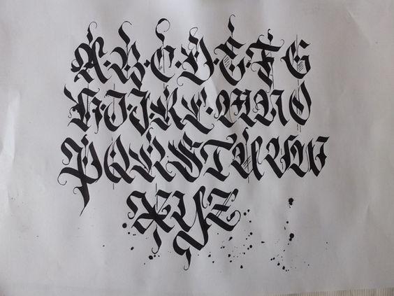 Calligraphy pack 2 by mateusz wlk wolski via behance typography