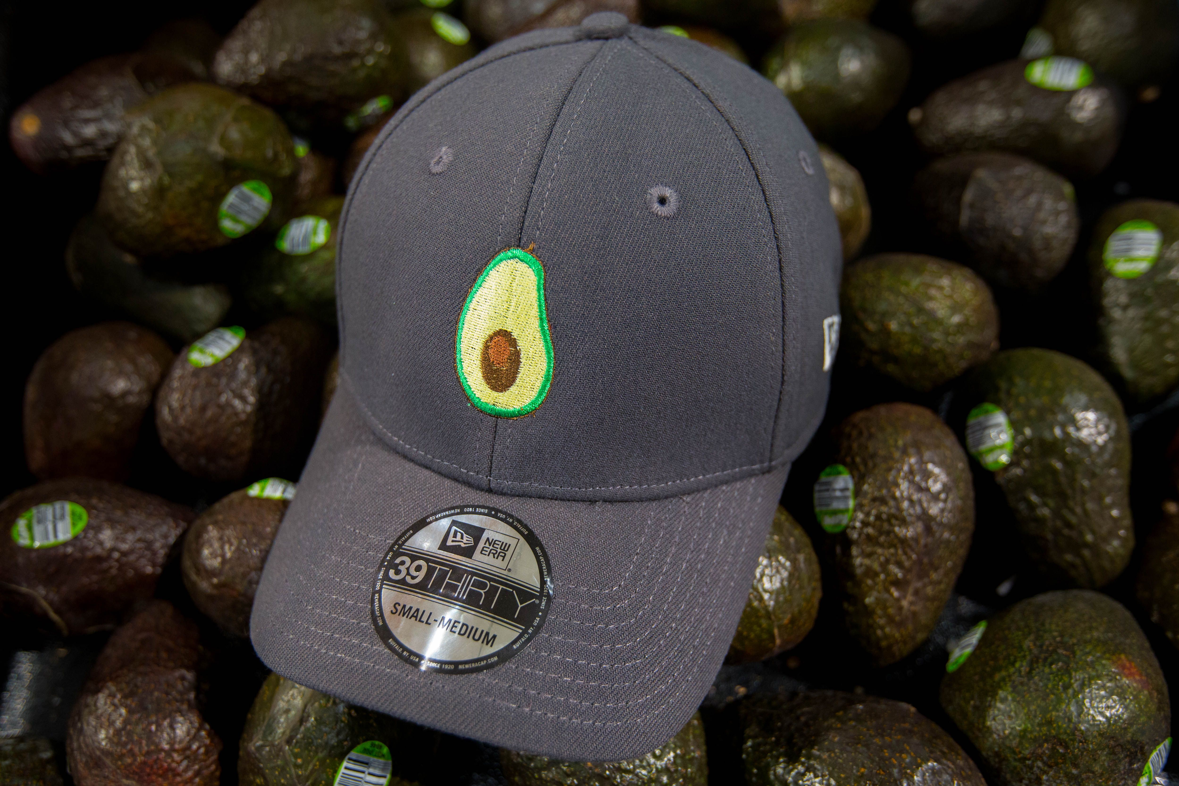 Lids Custom Hats >> Share Your Love For Guacamole With A Custom Avocado Hat From