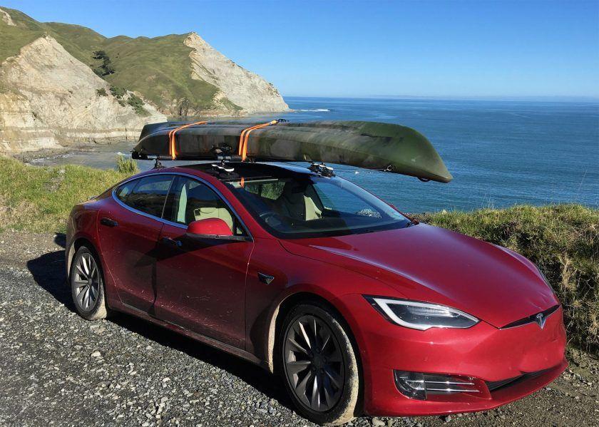 Tesla Model S Roof The Seasucker Monkey Bars Tesla Model S Roof Rack Tesla