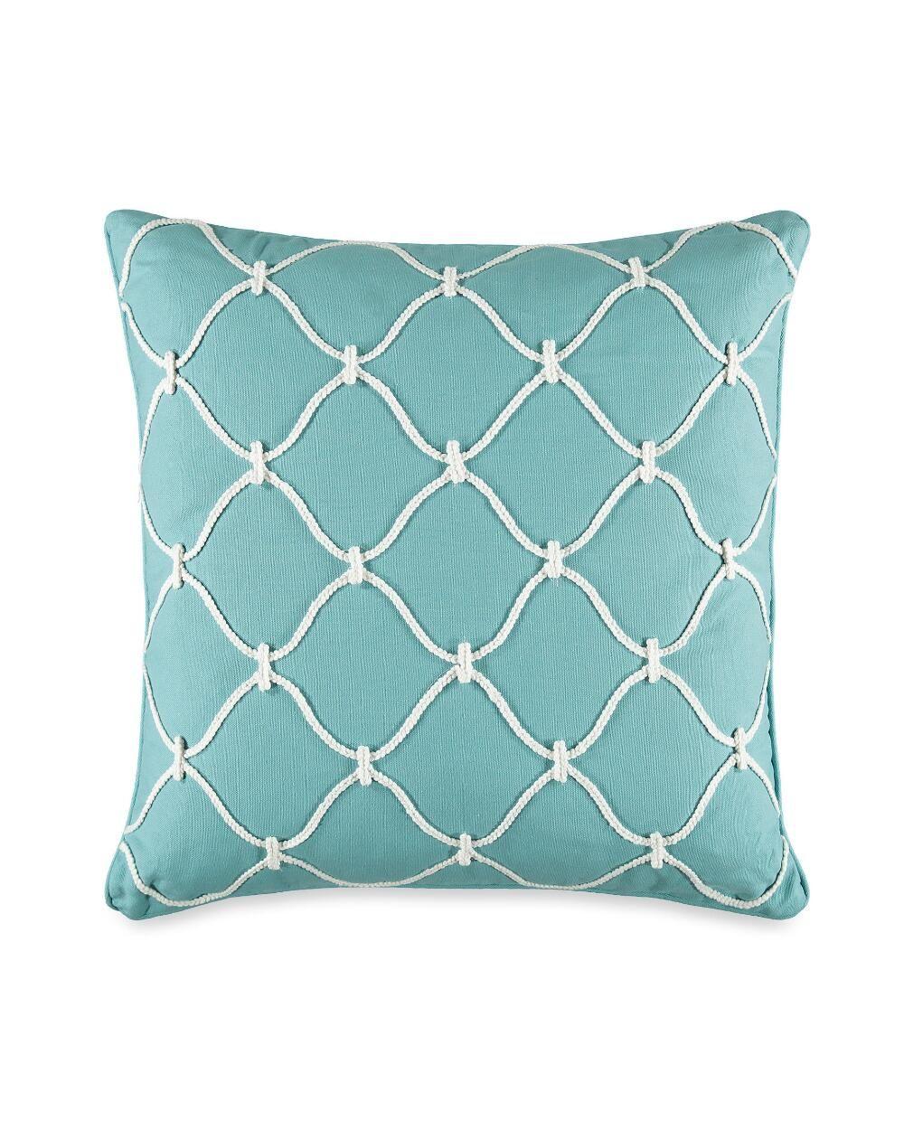 Stein mart bathroom accessories - Rope Lattice Decorative Pillow Decorative Pillows Coastal Shops Bed Bath