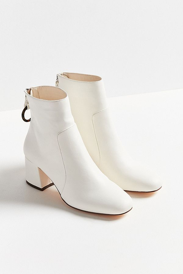 Slide View: 2: Harlow Faux Leather O-Ring Ankle Boot