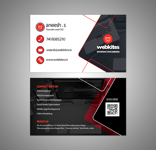 Business Card Web Developer Matt Imus Is A User Experience Designer And Researcher Based Qr Code Business Card Vector Business Card Examples Of Business Cards