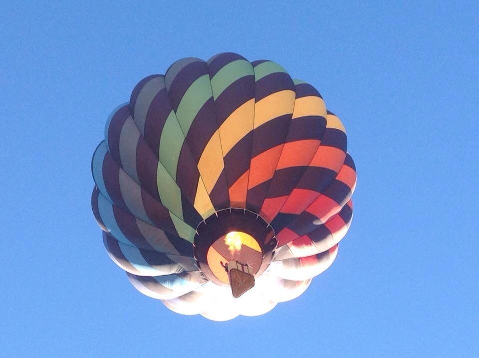 My cousins Hot Air Balloon