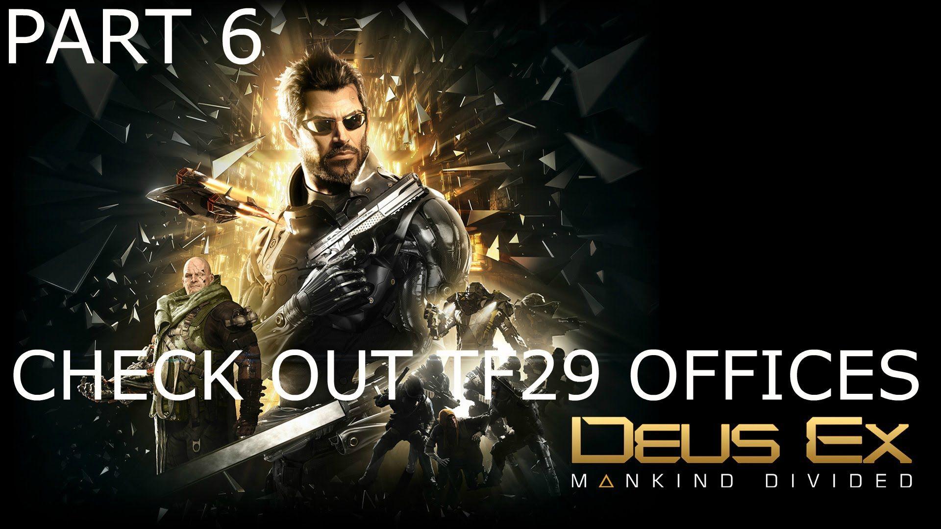 Deus Ex Human Revolution Walkthrough Part 13 Detroit Heavy