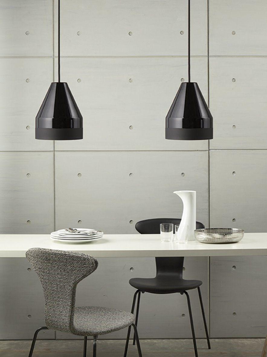 spisebordslampe design Dyberg Larsen   Crayon Pendel   sort (15x13x13 cm) | Pinterest  spisebordslampe design
