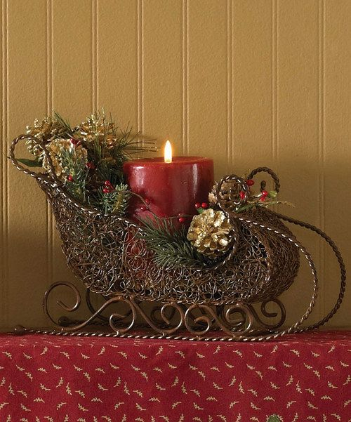 Take a look at this Park Designs Sleigh Pillar Holder on zulily