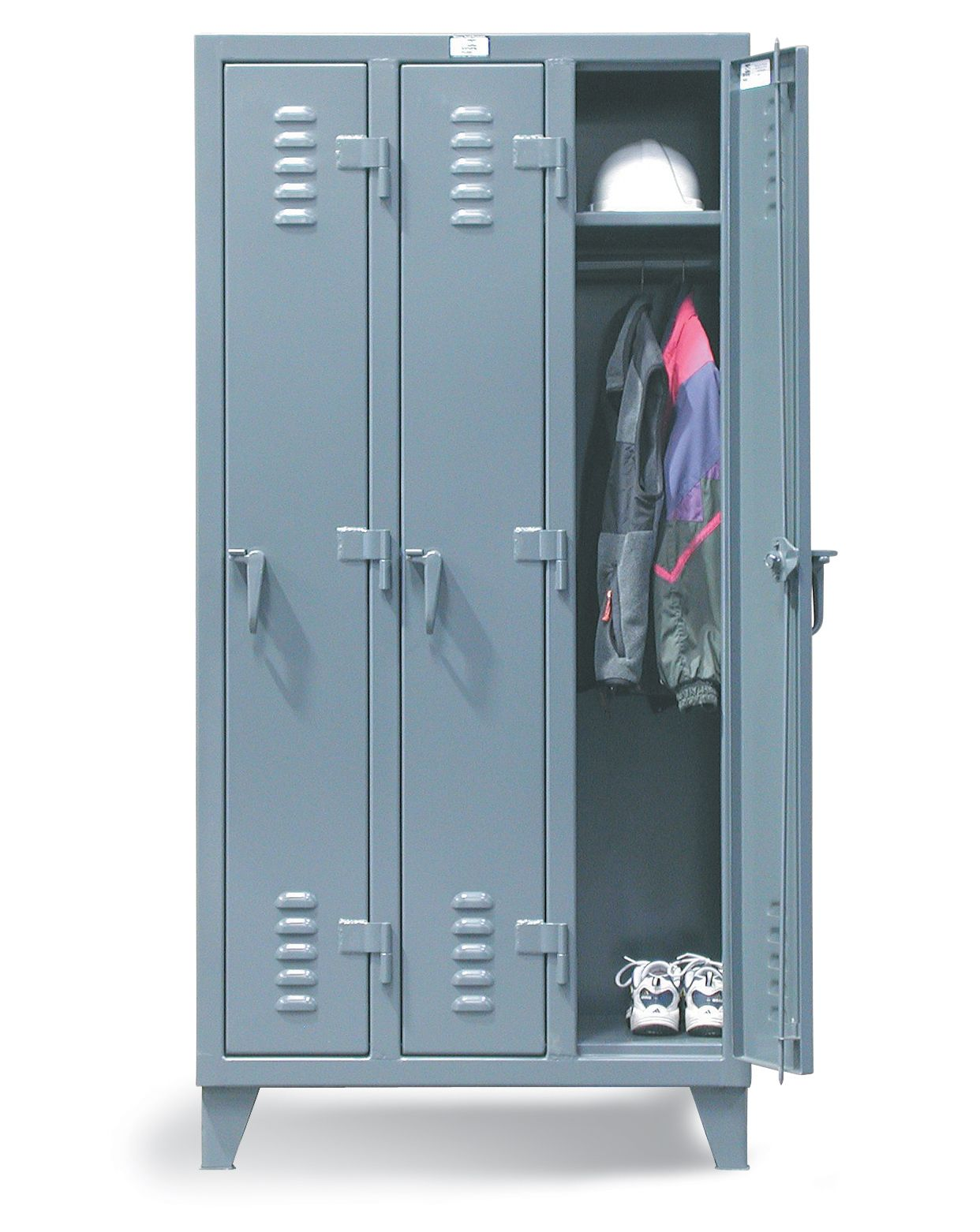 Slim Line Locker Slim Line Locker With 1 Shelf With
