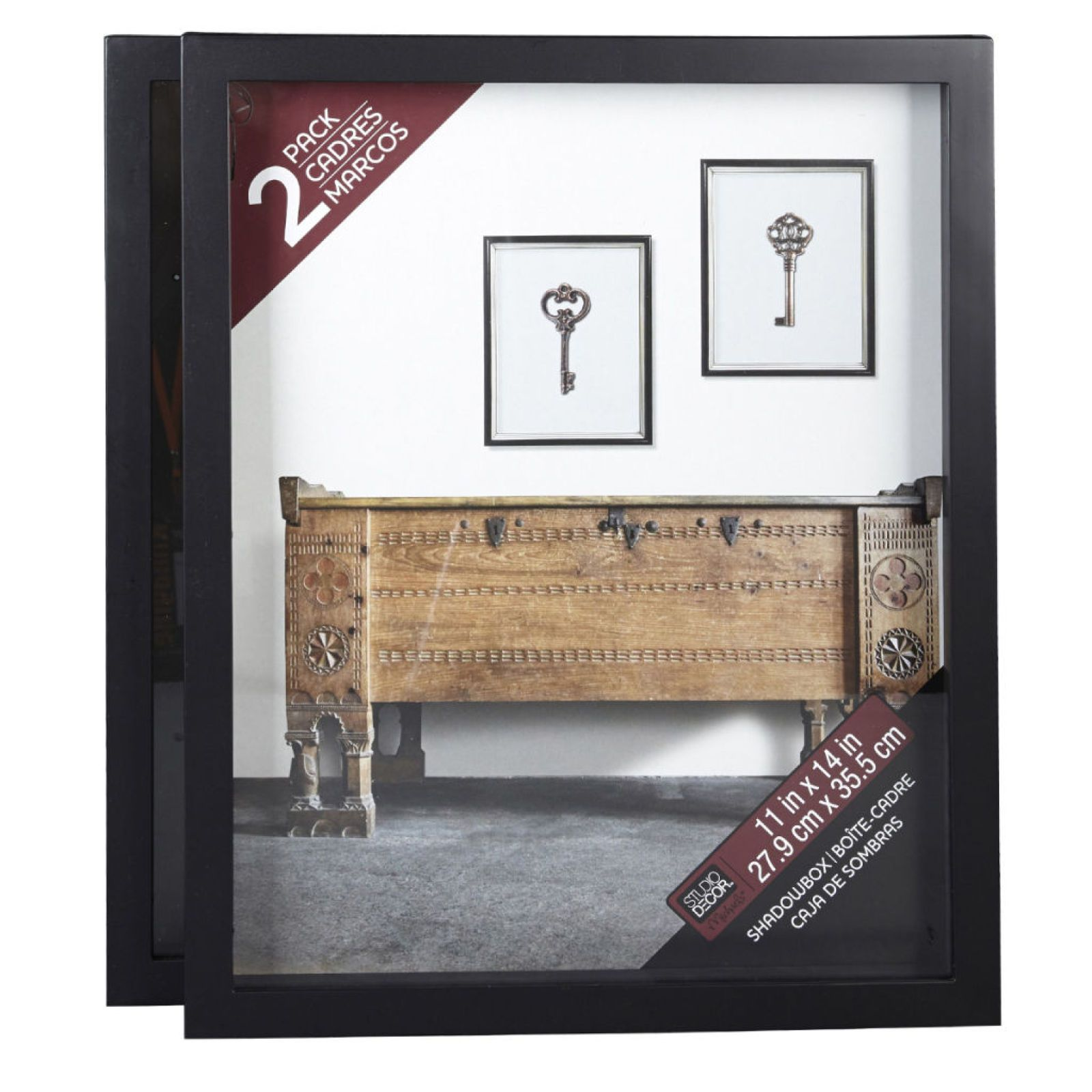 Studio Décor® Shadowbox, 2 Pack Studio decor, Shadow box