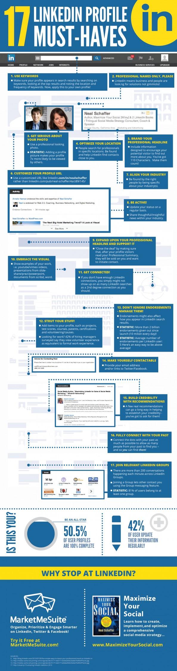 Ultimate LinkedIn Profile Must-Haves