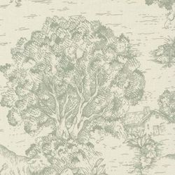 Ort Toile Seafoam Printed Drapery Fabric Item#: SW31161 $8.75 per yard