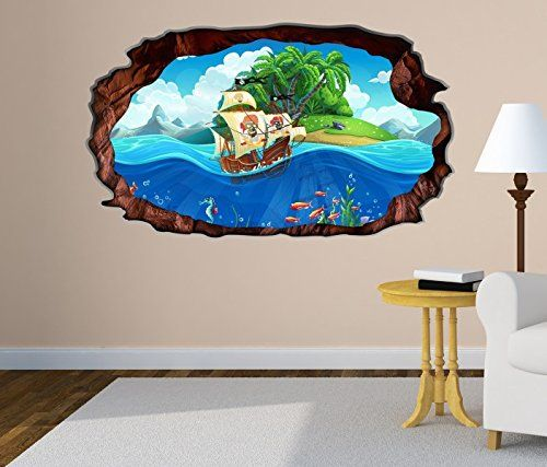 Kinderzimmer piraten stil wohnideen - Piratenzimmer deko ...