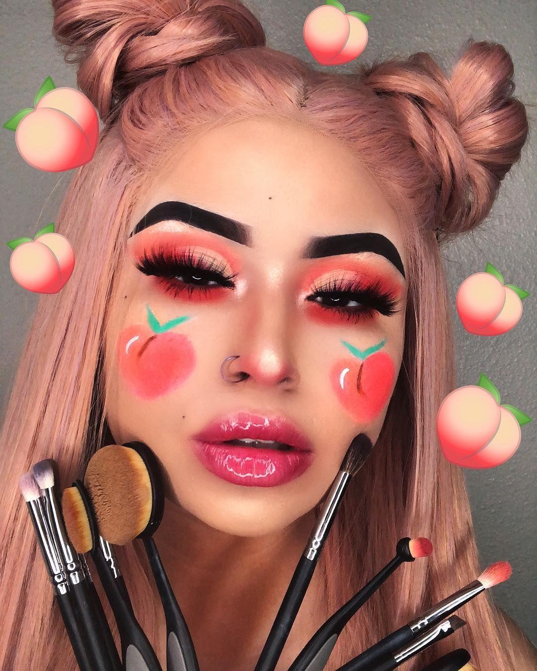 нσυѕтσиqυєєивяι♛♚ Peach makeup, Artistry makeup