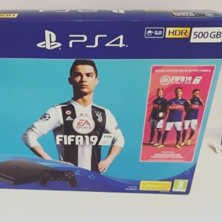Ps4 Brand New Price 100 500gb Fifa 19 Champions Edition Technology Tech Innovation Business Iphone Engineering Electronics Science