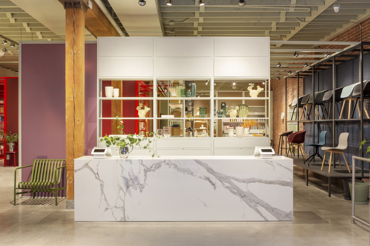 Portland Welcomes Hay S First Brick And Mortar Store In The Us Showroom Design Hay Store Hay Design