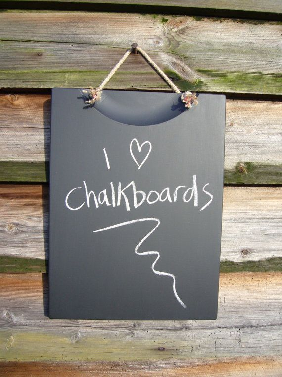 Plain Blackboard Kitchen Chalkboard Shabby Chic Home Decor