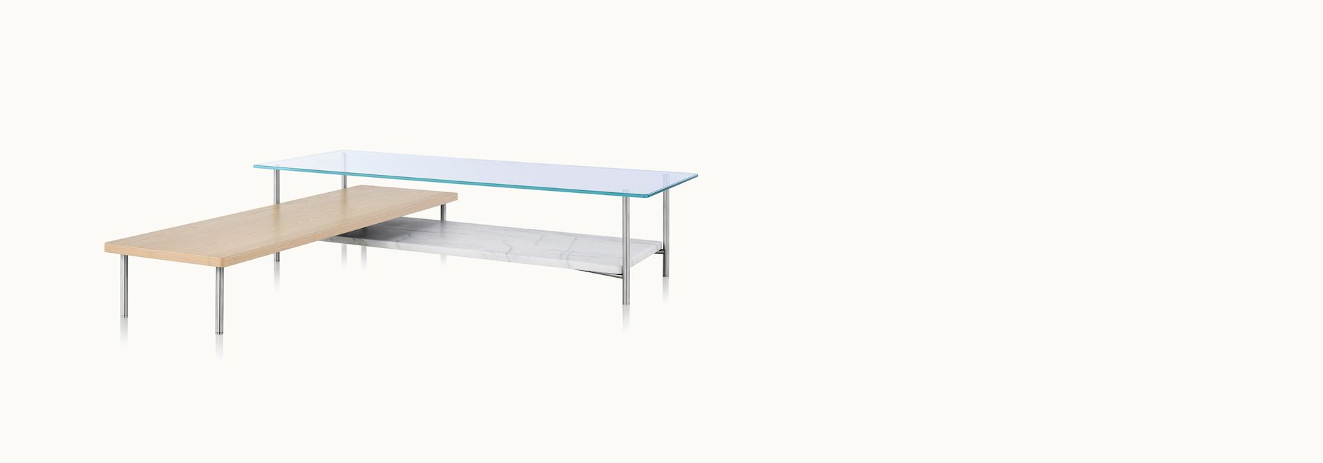 - Geiger Layer Table Table, L Shaped Coffee Table, Home Decor