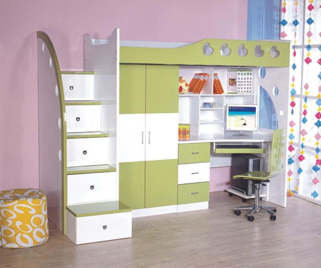 Cama infantil aprovechando al m ximo los espacios ideal for Recamaras pequenas para ninos