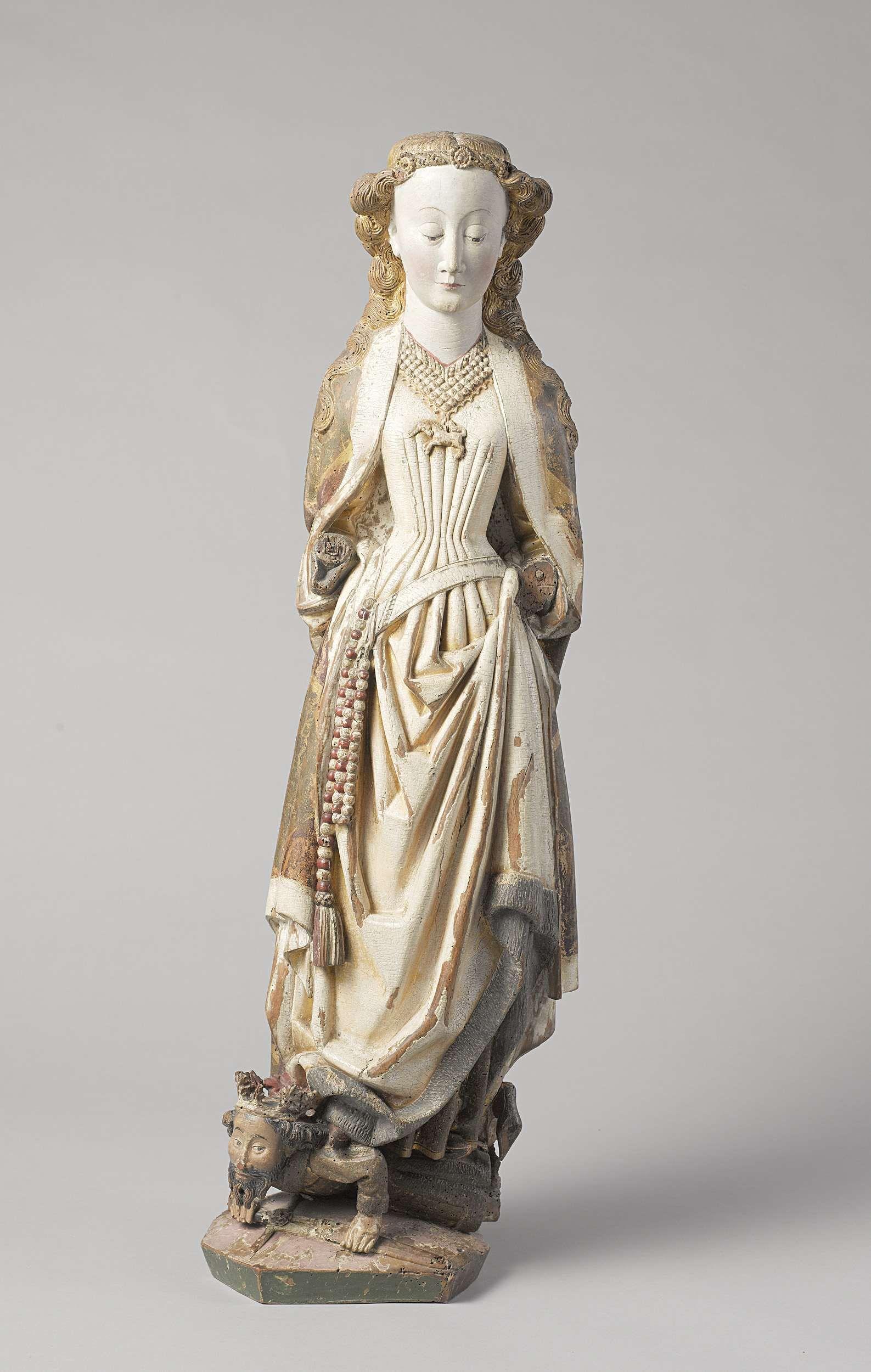 Sint-Barbara, Meester van Koudewater, ca. 1470
