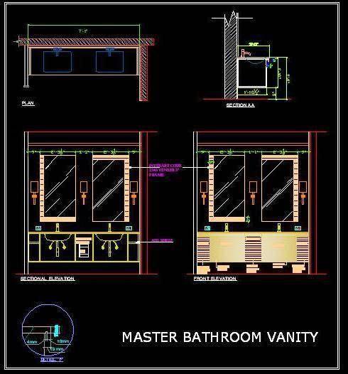 Vanity Design For Double Basin Counter Vanity Design