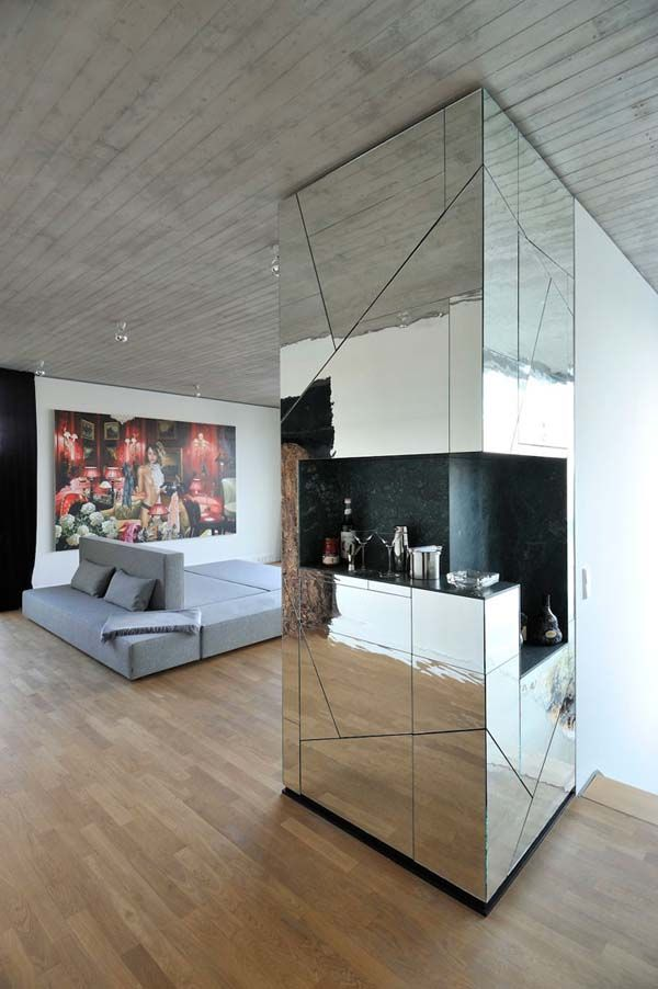 High Definition: Luxurious And Flamboyant Berlin Penthouse Design
