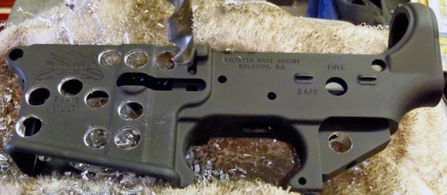 GIT R DONE! Skeletonized lower receiver  Remember the
