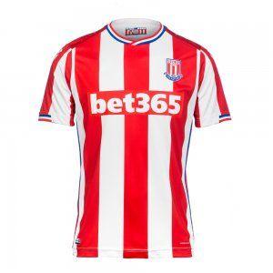 9a0b1d94c Stoke City FC 2017-18 Season Home Potters Jersey Shirt  K205 ...