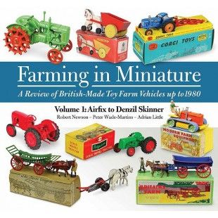 Farming in Miniature will prove essential for collectors of British toy models interested in farm tractors, farm horses and associated agricultural equipment. Many of the toys identified and described have never previously been mentioned in collectors' literature. It is being published in two volumes.