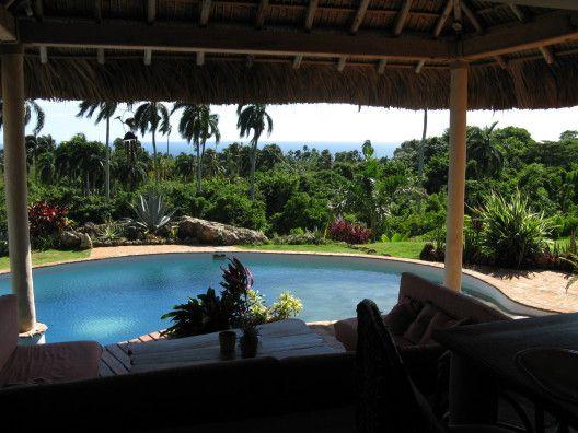 République dominicaine, cilla type Bali avec fantastique vue sur mer - location maison cap d agde avec piscine