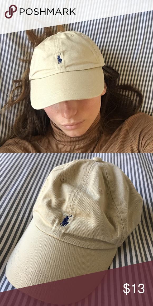 c452ef95b Authentic POLO Ralph Lauren cap. Never worn, great condition, vintage baseball  cap. Sporty & rich vibes, classic khaki color. Polo by Ralph Lauren ...