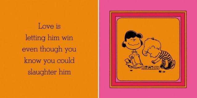 譲ること/ 愛とは、あなたが勝てる状況でも、彼に勝利を譲ることだ。