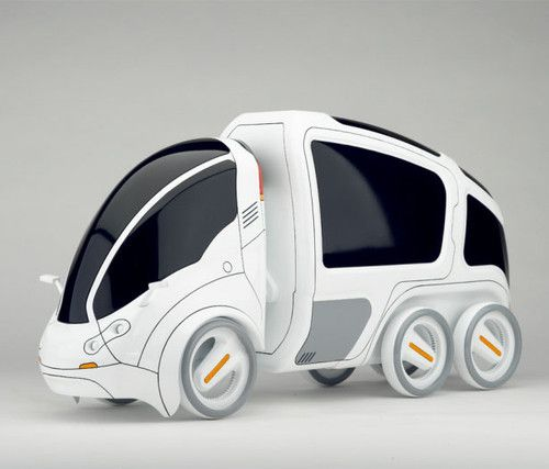 Transmitter, Future Vehicle, Vincent Chan, Modular Vehicle