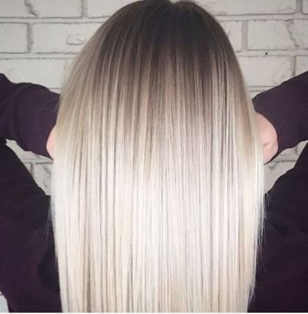 51 ideas hair ombre platinum blonde for 2019 | Ice blonde hair