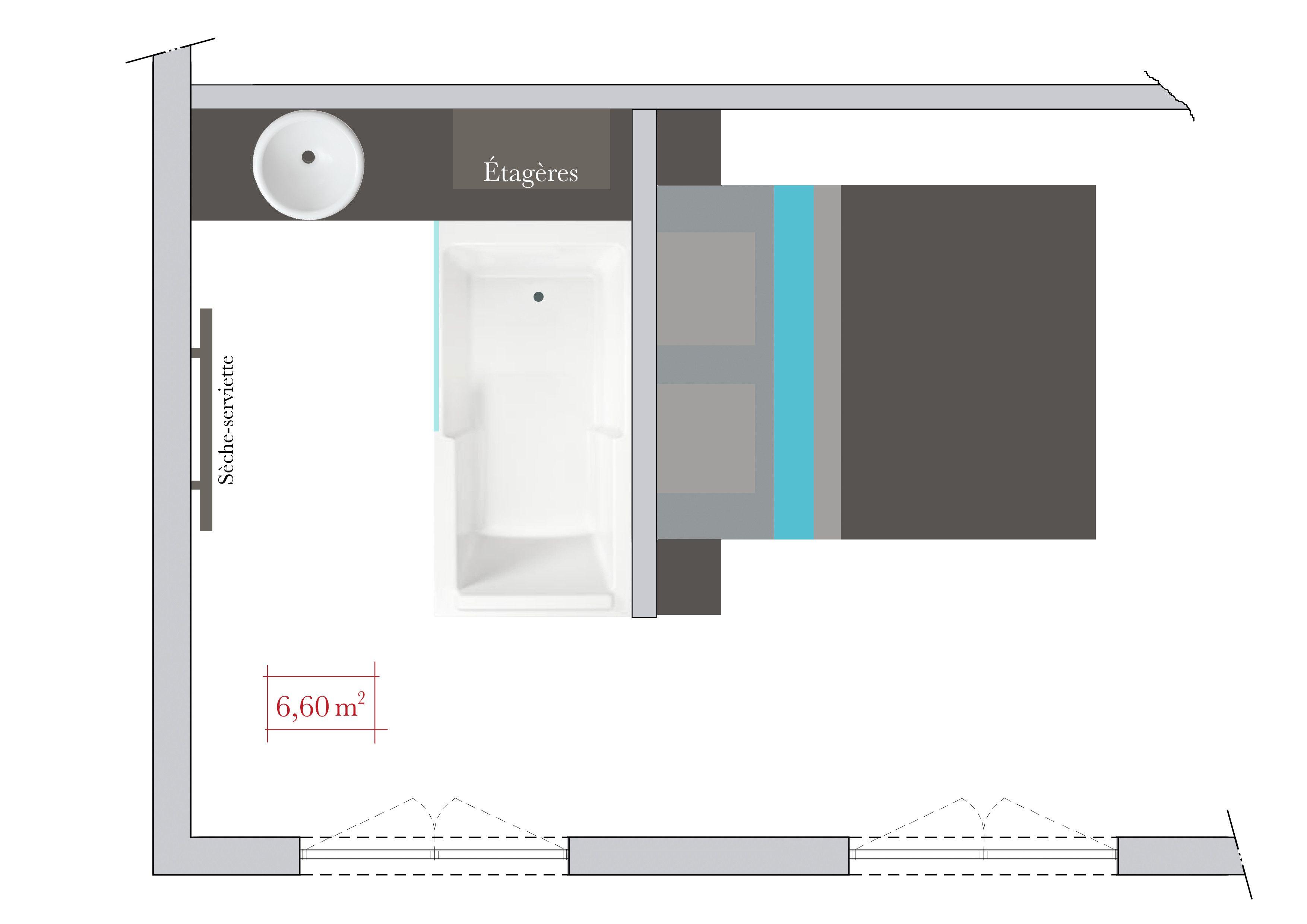 conseils d 39 architecte comment am nager une salle de bains ouverte sur la chambre deco. Black Bedroom Furniture Sets. Home Design Ideas