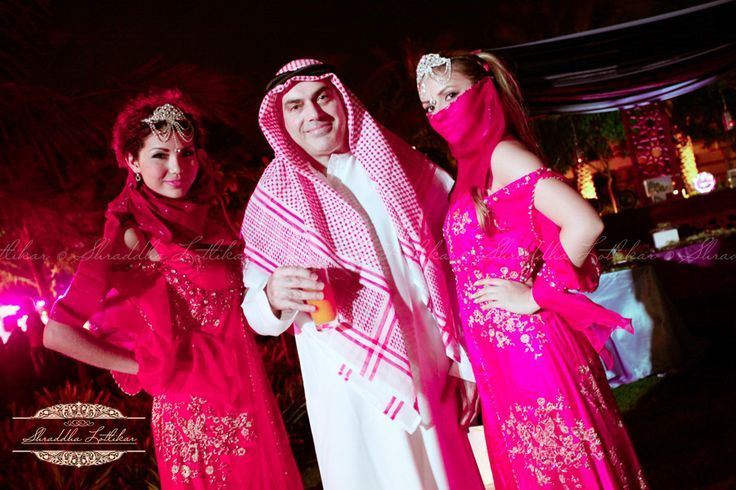 "Parties : The Arabian Nights themed cocktail party in ""Jumeirah ..."