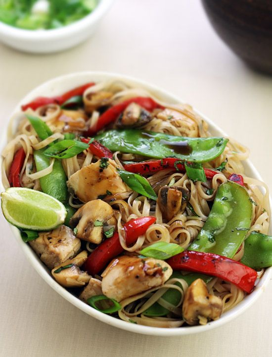Photo of Thai lime-pepper chicken stir-fry