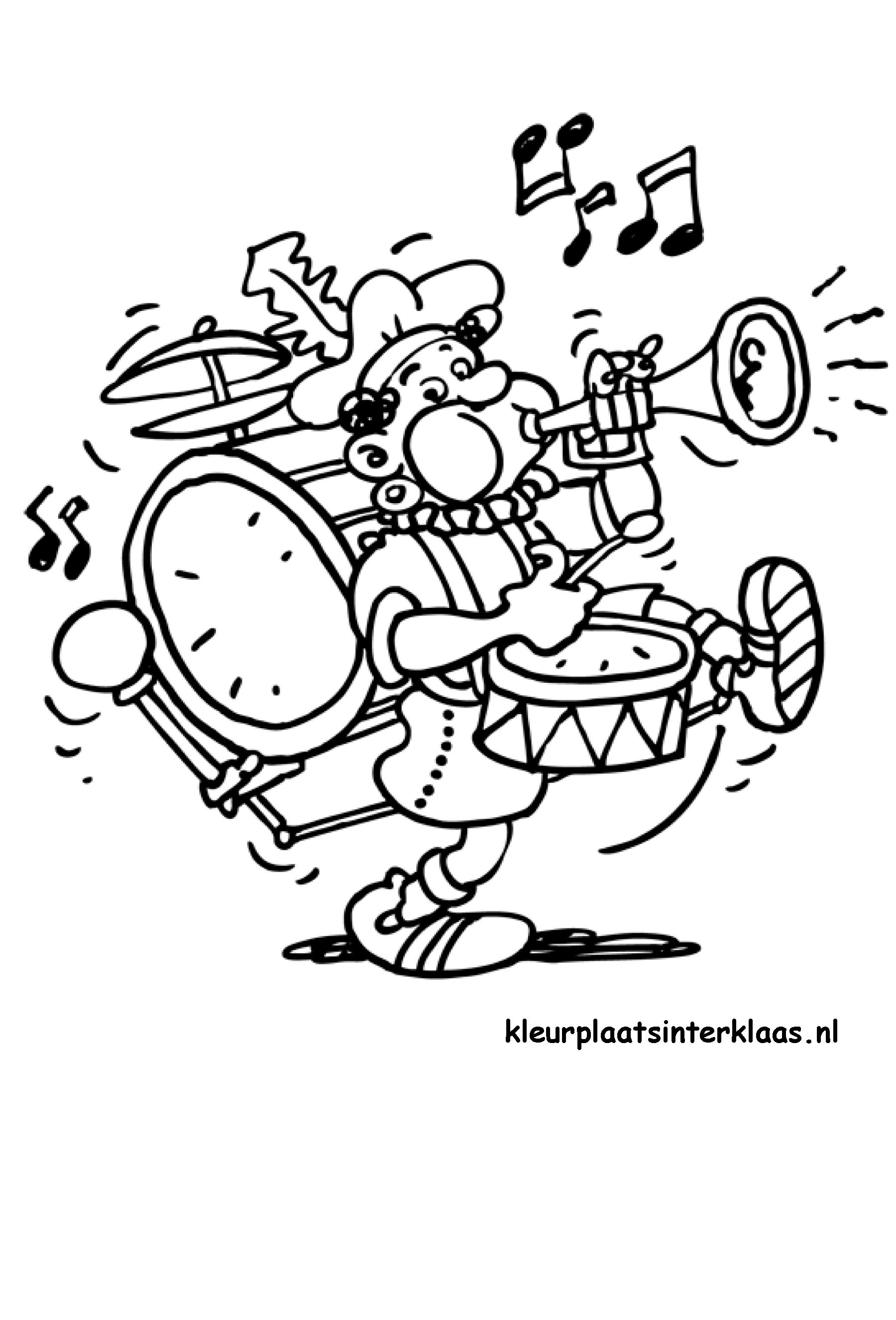 Geniaal Kleurplaten Zwarte Piet Op Fiets