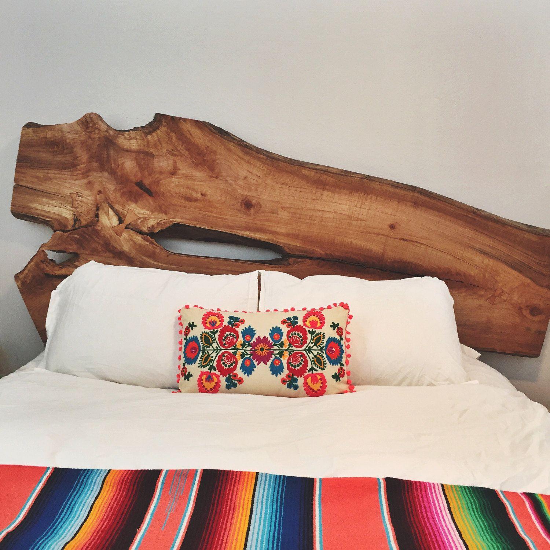 Custom live edge headboard pinterest california king room decor