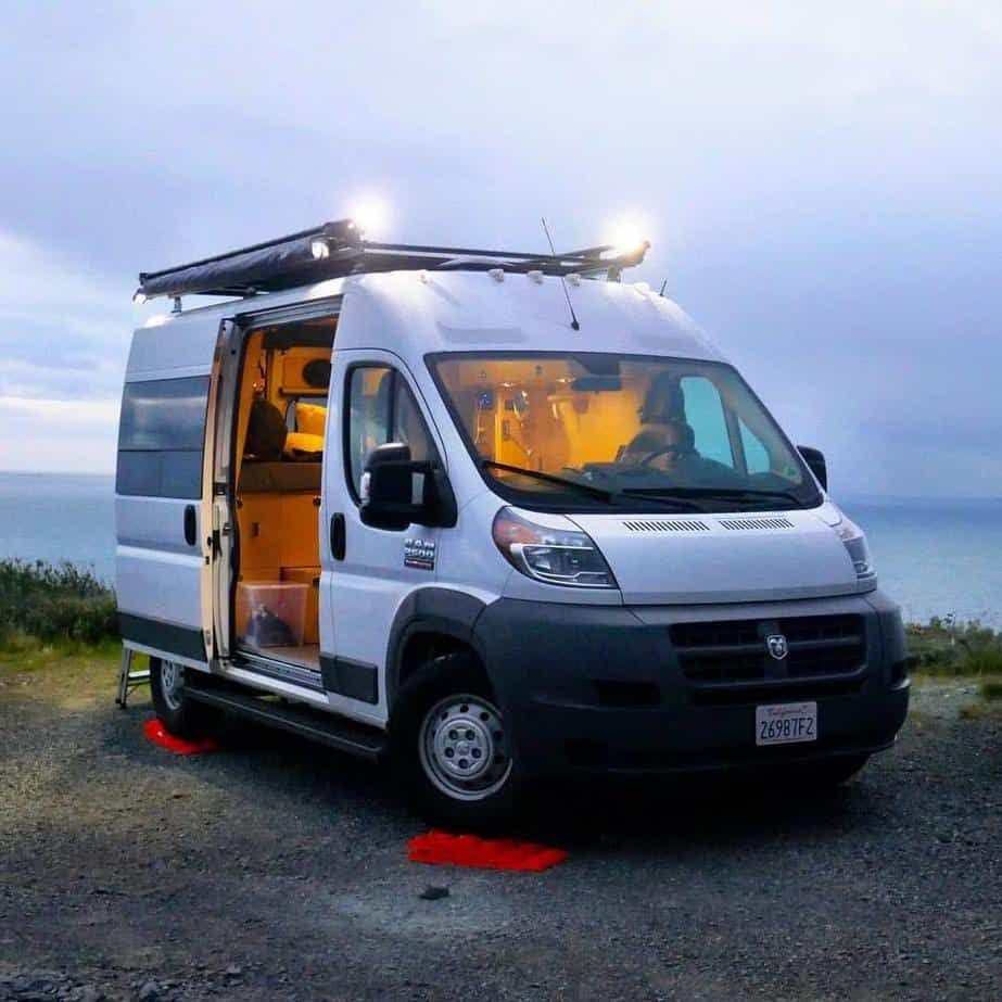 Ram Promaster Camper Vans Two Custom Builds For 60 000 Van For Sale Van Camper Van