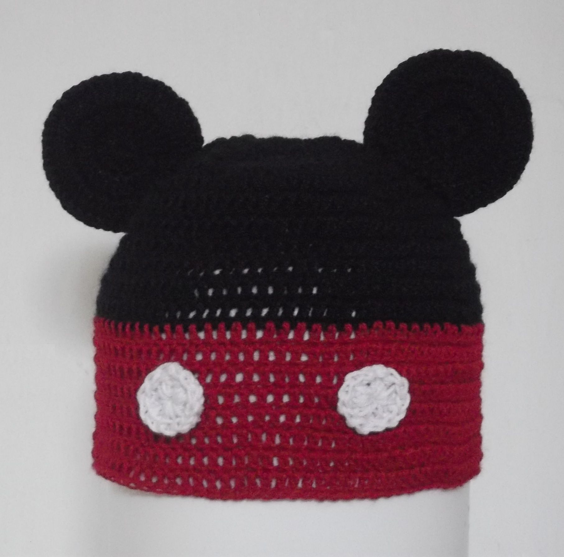 Gorro de Mickey Mouse