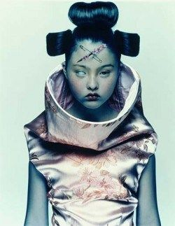 Mind Control-themed shoot for McQueen by Nick Knight