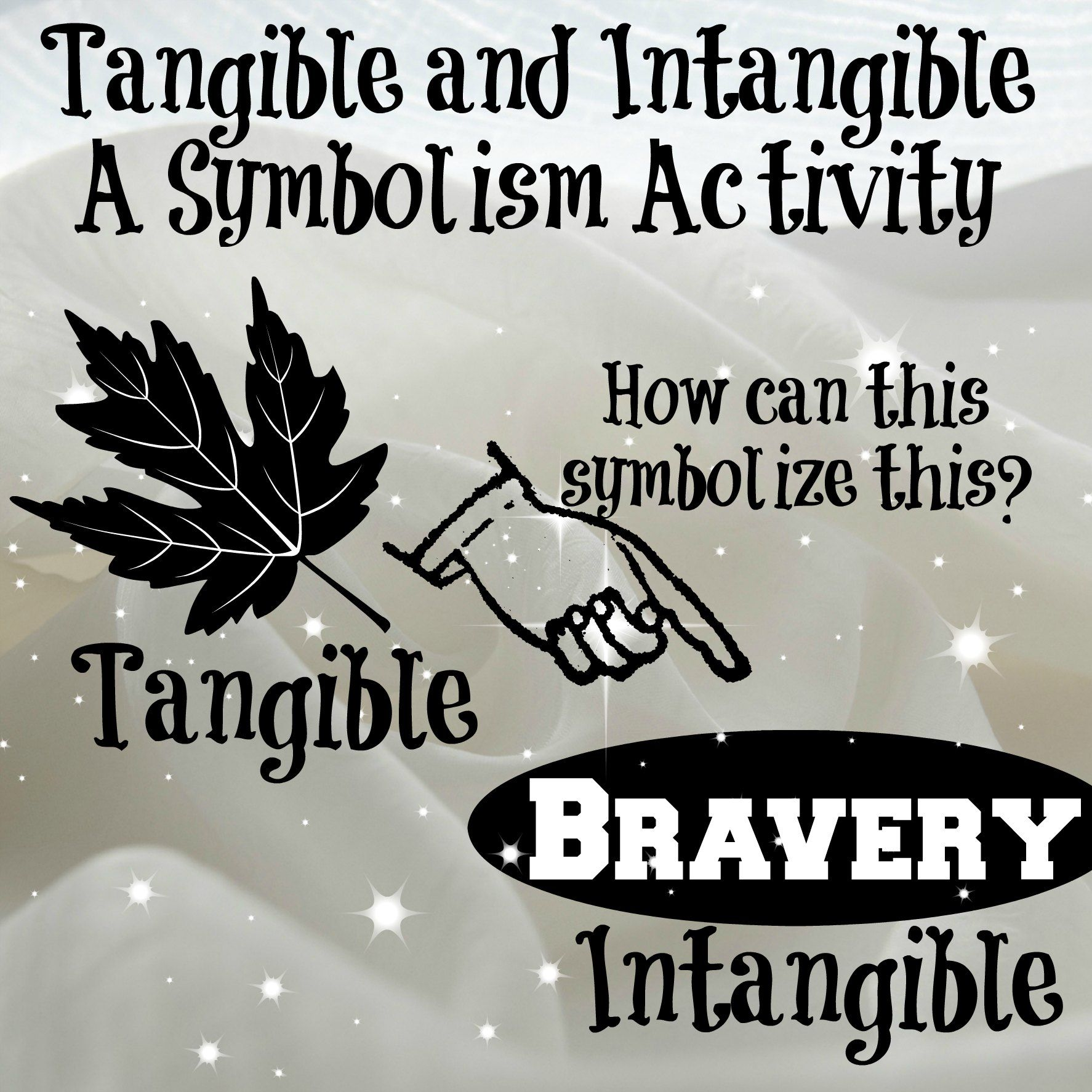 Tangible And Intangible A Symbolism Activity Teachers Toolbox
