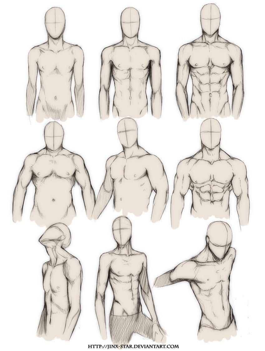 draw male body - Pesquisa Google | pr0j3c75 | Pinterest | Manga ...