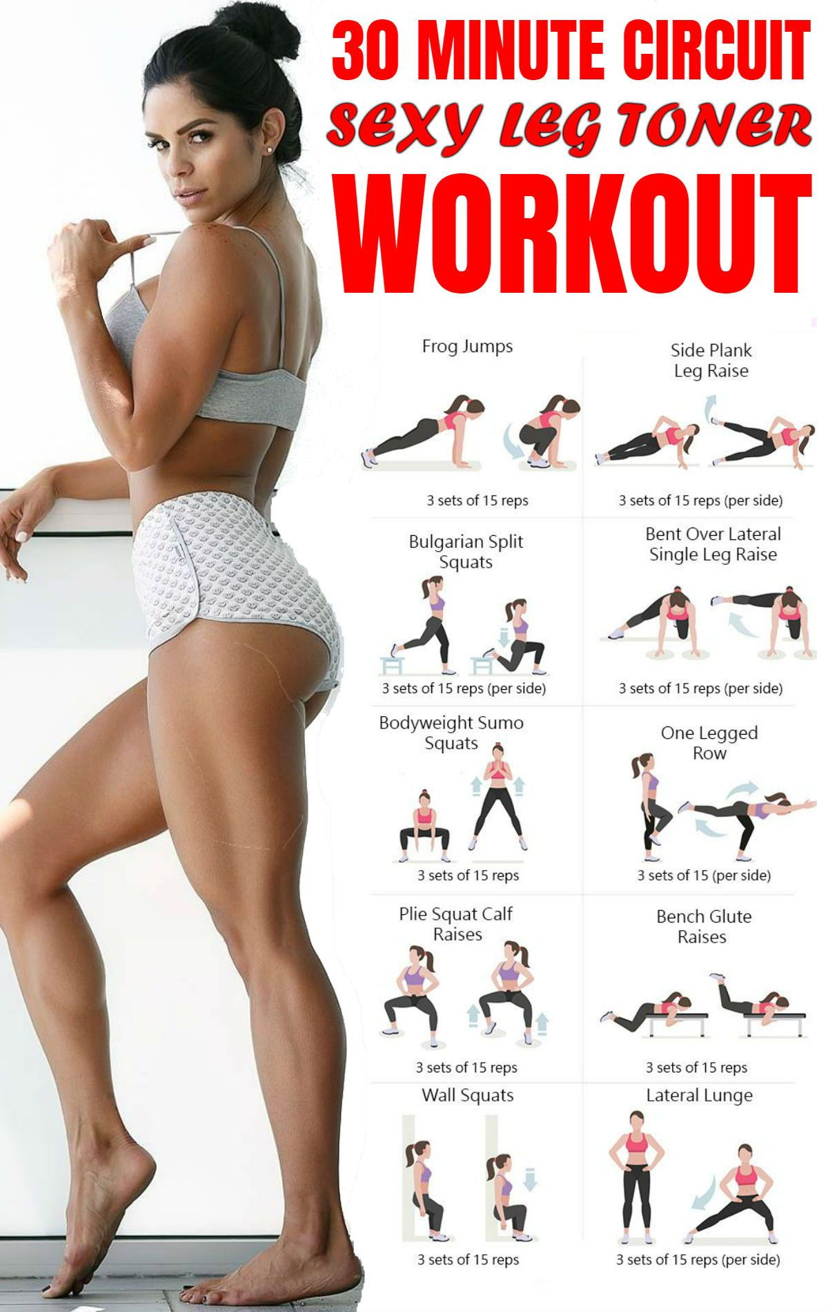 Workouts to Build a Round Booty and Toned Legs | Workout